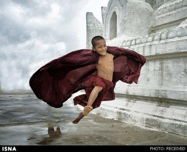کودکانِ-قرمز-پوش-میانمار/گزارش-تصویری